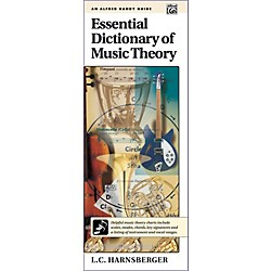 Alfred Essential Dictionary of Music Theory  Handy Guide (00-16643)