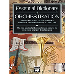 Alfred Essential Dictionary of Orchestration Book (00-17894)