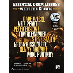 Alfred Essential Drum Lessons with the Greats Book & CD (00-35141)