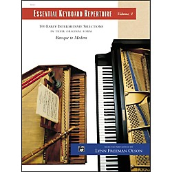 Alfred Essential Keyboard Repertoire Volume 1 (00-501C)