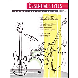 Alfred Essential Styles for the Drummer and Bassist Book 1 Book & CD (00-4300)