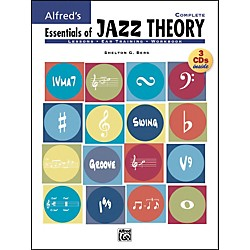 Alfred Essentials Of Jazz Theory Complete 1-3 Book/Cds (00-20812)
