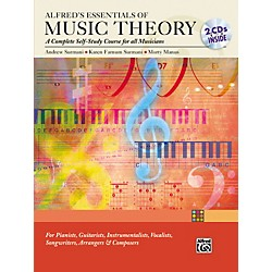 Alfred Essentials of Music Theory: Complete Self-Study Course (Book/2-CD) (00-23194)