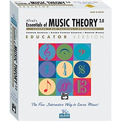 Alfred Essentials of Music Theory: Software Version 2.0 CD-ROM Educator Version Volume 1 (00-18826)