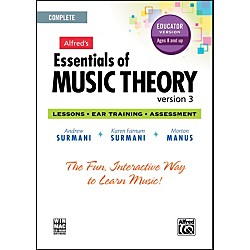 Alfred Essentials of Music Theory: Version 3 CD-ROM Educator Version Complete (00-34629)