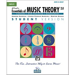 Alfred Essentials of Music Theory Student Version Complete (CD-ROM) (00-18833)