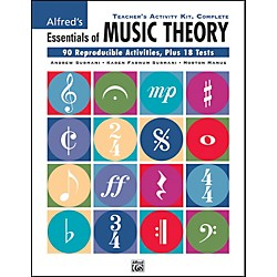 Alfred Essentials of Music Theory Teacher's Activity Kit Complete Complete (00-26327)