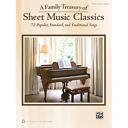 Alfred Family Treasury of Sheet Music Classics Book (322403)