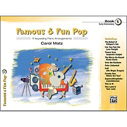 Alfred Famous & Fun Pop Book 1 Piano (00-22420)