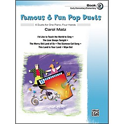Alfred Famous & Fun Pop Duets Book 2 (00-27706)