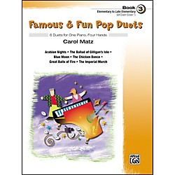 Alfred Famous & Fun Pop Duets Book 3 (00-27707)