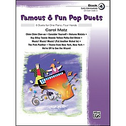 Alfred Famous & Fun Pop Duets Book 4 Book 4 (00-28985)
