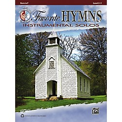 Alfred Favorite Hymns Instrumental Solos French Horn Book & CD (00-36124)