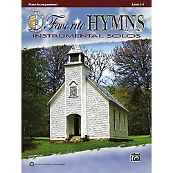 Alfred Favorite Hymns Instrumental Solos Piano Accompaniment. Book & CD (00-36130)