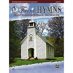 Alfred Favorite Hymns Instrumental Solos Viola Book & CD (00-36136)