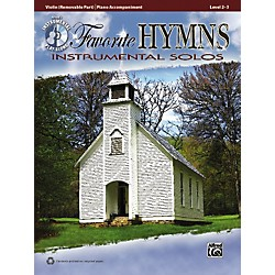 Alfred Favorite Hymns Instrumental Solos Violin Book & CD (00-36133)