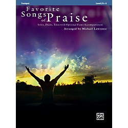 Alfred Favorite Songs of Praise (Trumpet Version) (00-32735)