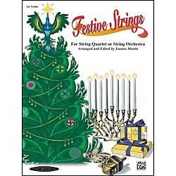 Alfred Festive Strings 1st Violin (Book) (00-0906)