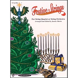 Alfred Festive Strings Bass (Book) (00-0986)