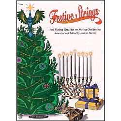 Alfred Festive Strings Viola (Book) (00-0927)