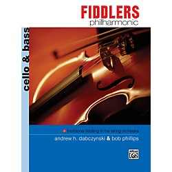 Alfred Fiddlers Philharmonic Cello & Bass Book (00-11248)
