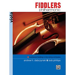 Alfred Fiddlers Philharmonic Viola Book (00-11247)