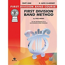 Alfred First Division Band Method Part 1 B-Flat Clarinet (00-FDL00004A)