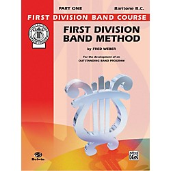 Alfred First Division Band Method Part 1 Baritone (B.C.) (00-FDL00016A)