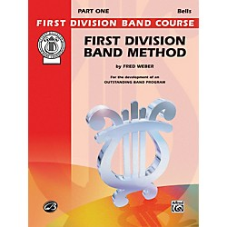 Alfred First Division Band Method Part 1 Bells (00-FDL00020A)