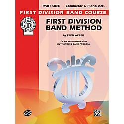 Alfred First Division Band Method Part 1 Conductor (00-FDL00001A)