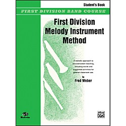 Alfred First Division Melody Instrument Method Student's Book (00-FDL00219)