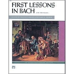 Alfred First Lessons in Bach Piano (00-498)