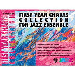 Alfred First Year Charts Collection for Jazz Ensemble 1st B-Flat Tenor Saxophone (00-SBM01004)