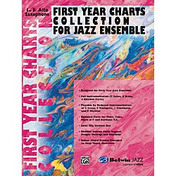 Alfred First Year Charts Collection for Jazz Ensemble 1st E-Flat Alto Saxophone (00-SBM01002)