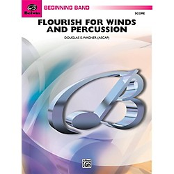 Alfred Flourish for Winds and Percussion Concert Band Grade 1 Set (00-29561)