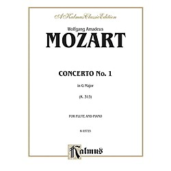 Alfred Flute Concerto No. 1 K. 313 (G Major) for Flute By Wolfgang Amadeus Mozart  Book (00-K03723)