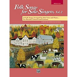 Alfred Folk Songs for Solo Singers Vol. 2 (00-16300)