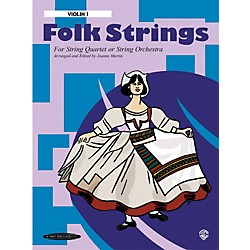 Alfred Folk Strings 1st Violin (Book) (00-14680X)