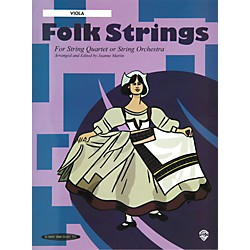 Alfred Folk Strings Viola (Book) (00-14920X)