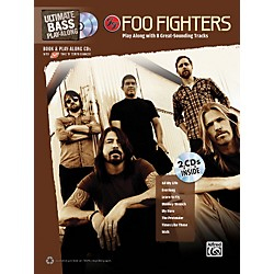 Alfred Foo Fighters Ultimate Play-Along Bass TAB Book & 2 CDs (704137)