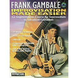 Alfred Frank Gambale Improvisation Made Easy (Book and 2 CDs) (00-0005B)