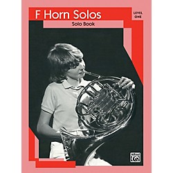 Alfred French Horn Solos Level I Solo Book (00-EL03116)