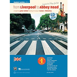 Alfred From Liverpool to Abbey Road Standard Notation Edition Book & CD (00-38641)