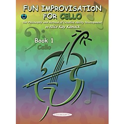 Alfred Fun Improvisation for ... Cello  Book/CD (00-0775CD)