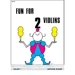 Alfred Fun for 2 Violins, Volume 1 Book (00-0430)