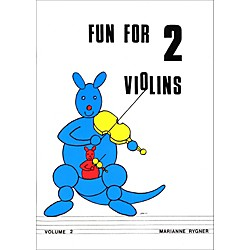 Alfred Fun for 2 Violins, Volume 2 Book (00-0431)