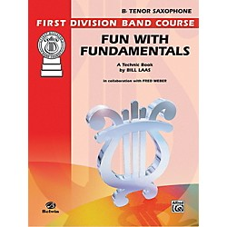 Alfred Fun with Fundamentals B-Flat Tenor Saxophone Book (00-FDL00082)