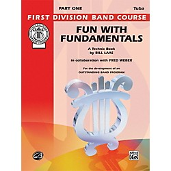 Alfred Fun with Fundamentals Bass (Tuba) Book (00-FDL00090)