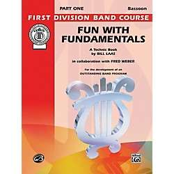 Alfred Fun with Fundamentals Bassoon Book (00-FDL00080)