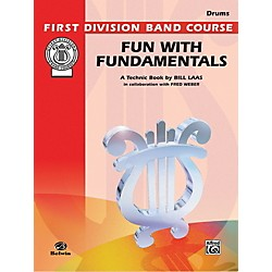 Alfred Fun with Fundamentals Drums Book (00-FDL00091)